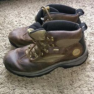 Typical Outdoor Timberland boots